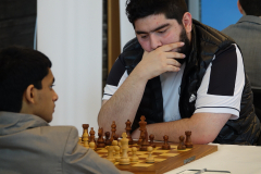 Parham Magsoodloo,Iran black against Nihal Sarin,India