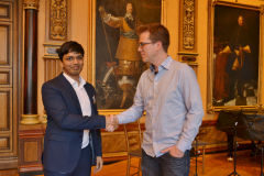 First round opponents: Harikrishna and Hillarp Persson