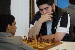 Parham Magsoodloo,Iran black against Nihal Sarin,India