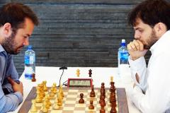 Ivan Saric white against Grandelius.